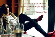 Quote by Shannon Leto. #MARSart
