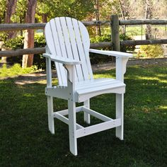 Shine Company 4675WT Captiva Outdoor Counter Height Chair