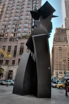 Louise Nevelson cor ten steel sculptures | Shadows and Flags, Louise Nevelson