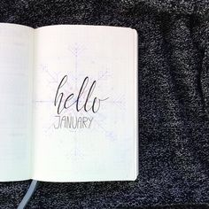 hello January - first page