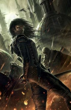 The cover art for the limited edition of Best Served Cold by Raymond Swanland