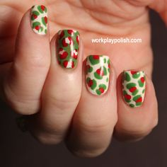 Digit-al Dozen Does Festiveness: OPI Christmas Leopard | work / play / polish