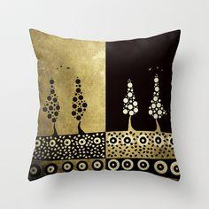 Dual Throw Pillow by Viviana González - $20.00
