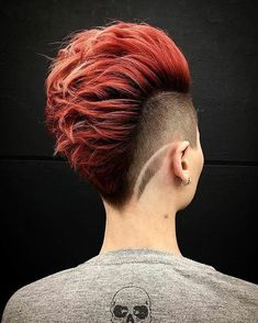 Top 10 Trendy, Low-Maintenance Short Layered Hairstyles 2019 Easy Short Layered Hairstyles, Stylish Short H. - Top 10 Trendy, Low-Maintenance Short Layered Hairstyles 2019 Easy Short Layered Hairstyles, Stylish Short Haircut for Women - Short Hair Mohawk, Mohawk Hairstyles For Women, Cool Hairstyles, Layered Hairstyles, Short Punk Hair, Braided Mohawk, African Hairstyles, Hair Styles For Women Over 50, Short Hair Cuts For Women
