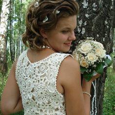 Vestidos de noiva em crochê: Modelos, fotos e dicas « Dona Giraffa
