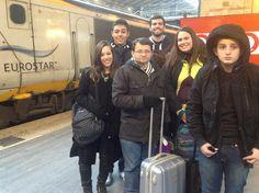 Experiência Eurostar. A caminho de Paris. Um sonho que se torna realidade com a Cultura & Companhia. Não faça intercâmbio. Faça Cultura & Companhia!