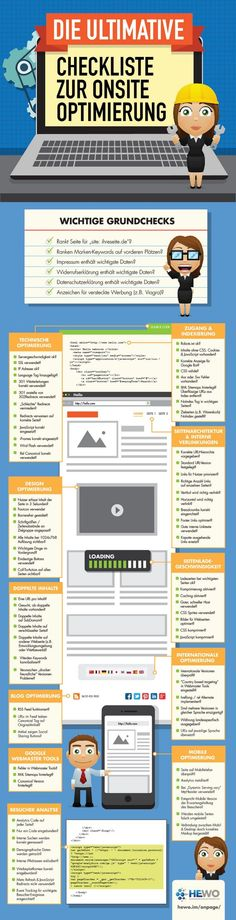 #Checkliste zur #Onsite Optimierung