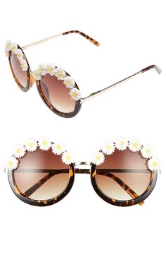 The crazy, daisy days of festival season will be here shortly and these sunglasses will help set the vibe.