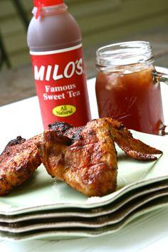 Milo's Sweet Tea Wings