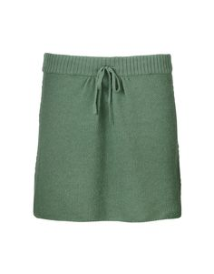 Perfect green (wool skirt).