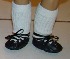 Irish step dance shoes for 18-21 dolls by ImagiFaire on Etsy