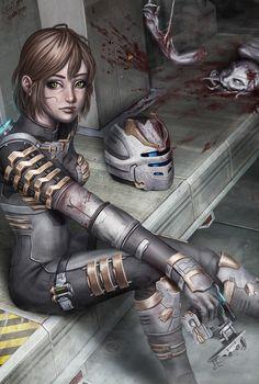 Dead Space by ~daniel-oldenburg on deviantART  Auction your comics on http://www.comicbazaar.co.uk
