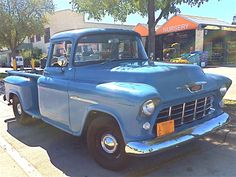 1955 chevy truck | Handsome 1955 Chevrolet 3200 Pickup at Home Depot