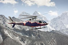 https://flic.kr/p/SMgFpS | AW119Kx and Simone Moro: an adventure in Nepal | AW119Kx experimental flights in the Everest Base Camp region