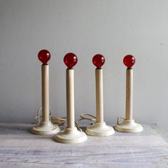 Antique candle lights