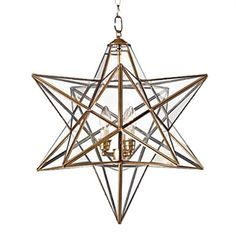 Ceiling Lights - Pendant Lights - Star Pendant Light with 3 Lights