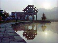 Xidi Village, Anhui Province, China.  'Crouching Tiger, Hidden Dragon'