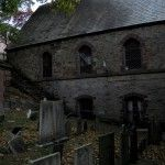Providence graveyard where Poe and Lovecraft hung out