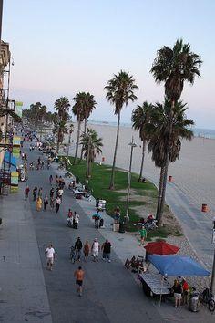 Boardwalk, Venice Beach, CA