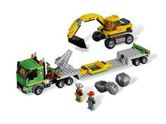 Take on the heaviest work with the mighty Transporter and Excavator! for Jack?