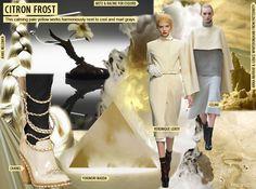 Delicate Winter Pales. Women's Key Color F/W 2014-15