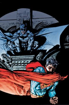 Batman and Superman (Bermejo art)