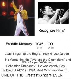 Freddie Mercury - funny pictures - funny photos - funny images - funny pics - funny quotes - #lol #humor #funny