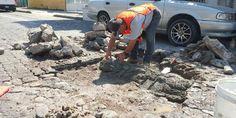 Gobierno municipal realiza trabajo permanente en la rehabilitación de calles