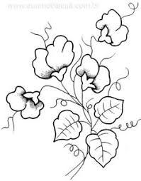 Image result for simple line drawing of sweet peas