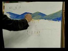 ▶ Pintura em Tela - Parte 01 02 - YouTube