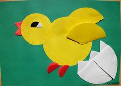 kurczak origami kołowe