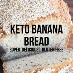 Low Carb Banana Bread – Keto Friendly