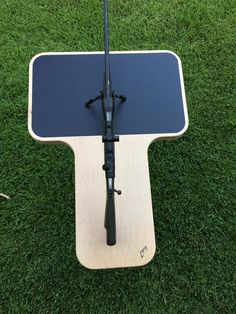 """Legacy """"T"""" Ambidextrous Shooting Bench – Legacy Shooting Products Portable Shooting Bench, Shooting Bench Plans, Shooting Table, Air Rifle Hunting, Archery Hunting, Shooting Targets, Archery Targets, Shooting Sports, Bow Target"""