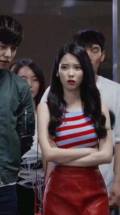 Korean Drama Songs, Korean Drama Romance, Korean Drama Funny, Korean Drama Best, Korean Actresses, Korean Actors, Actors & Actresses, Iu Twitter, Iu Hair