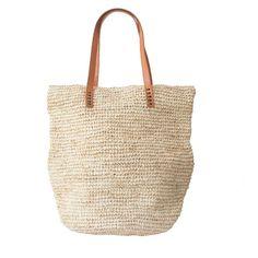 Beach Bag Straw Beach Bag by MOOSSHOP on Etsy