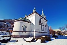 Hakodate Russian Orthodox Church #japan #hokkaido