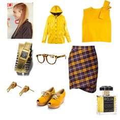Fun look for the Mix-n-Match fashion mission put together by XDPLL
