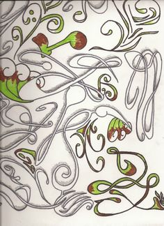 art nouveau motifs - Google Search | corona flowers | Pinterest | Corona