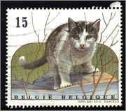 Domestic cats on Stamps, Covers and more! | Stamp Bears
