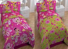 KIDS GIRLS Bedding - Lalaloopsy Comforter u0026 SHEET SET - LALALOOPSY Bed in BAG Lalaloopsy & Lalaloopsy Bed Tent with Pushlight Idea Nuovahttp://www.amazon ...
