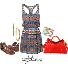 """""""Color and Pattern"""" by angkclaxton on Polyvore"""