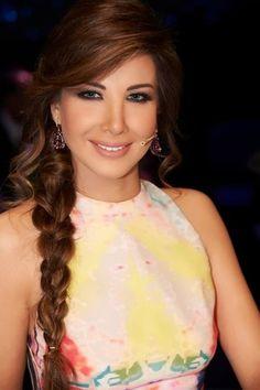Nancy Ajram side braid, my go to easy hair do