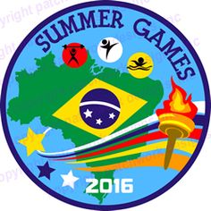 Summer Games 2016--FREE KIT [3 inch patch]
