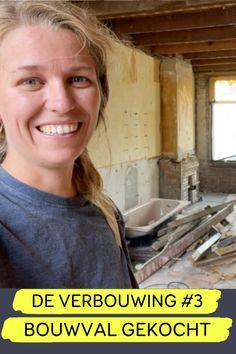 De nieuwste video staat online waarin Jan en ik je meenemen in de verbouwing van onze bouwval naar een droomhuis! In De Verbouwing nemen we je mee in de verbouwing van onze bouwval. Een woning die volledig aan puin geslagen wordt, om het vervolgens om te toveren van klushuis en dat in 6 maanden, met beperkt budget. Iedere twee weken praten we je bij over de stand van zaken. Bekijk de hele video op de website van - Gewoon wat een studentje 's avonds eet.   Verbouwen met een budget  