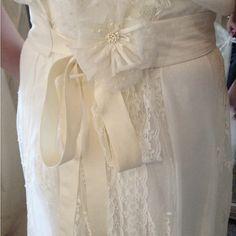 Nossos detalhes... Wedding Dress Atelier Carla Gaspar.