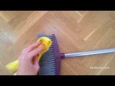 Cómo evitar pelusas en la escoba   facilisimo.com - YouTube