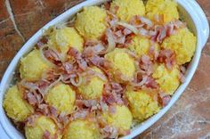 Polenta, Viera, Potato Salad, Cauliflower, Food And Drink, Potatoes, Baking, Vegetables, Breakfast