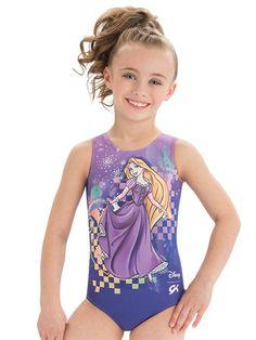 NWT GK Elite Disney Descendants Mal Purple Gymnastics Leotard Child /& Adult Size