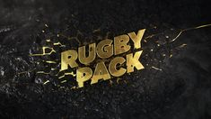 """New graphic package for the """"Rugby Pack"""" TV Show on beIN SPORTS"""