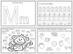 EDUCATIA CONTEAZA: Literele L, M, N Preschool Education, English Vocabulary, Learn English, Free Printables, Diy And Crafts, Bullet Journal, Classroom, Kids, Montessori